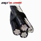 cavo elettrico di alluminio di ABC di torsione del collegare 0.6/1kv - duplex limitato del cavo/Triplex aereo/Quadruplex