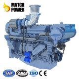 El mejor precio Weichai 500HP Wp12 Motor diesel marino Barco de motor Steyr 2100kw