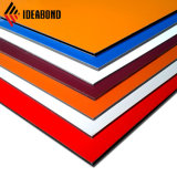 La meilleure qualité de la publicité ignifugé de lambris en matériau composite en aluminium