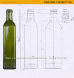 Leere runde Glasolivenöl-Großhandelsflasche (1214)