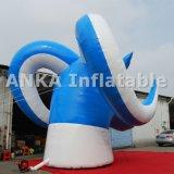 Гигантская модельная раздувная козочка крыши шаржа 3D