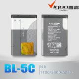 Telefone celular 3.7V 800mAh Bateria para BL-5c Nokia