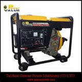 Type Diesel Generator 5kw Portable Diesel Generator를 여십시오