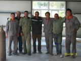 Los materiales de construcción para el taller de la estructura de acero prefabricados