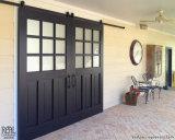 Нутряная французская конструкция дверей амбара утюга для дома