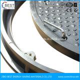 Coperchio di botola rotondo di furto di C250 700X50mm FRP GRP anti
