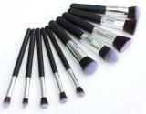 presente de promoção best-seller sintético Premium 10HP Silver Makeup Ajuste da Escova