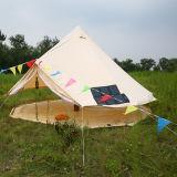 Grande tenda di Bell di campeggio della tela di canapa del cotone di evento del Teepee della famiglia antivento