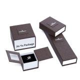 Цвет Brwon жесткой элегантный специально подарок набор ювелирных изделий упаковочных коробок
