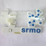 LED Promocional Piscando Coração Botas de Borboleta com Logotipo Impresso (3161)