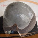 고품질 흑발 실리콘 레이스 가발 (PPG-l-01744)