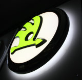 tekens van de Doos van 3D Backlit Acryl LEIDENE Thermoforming Tentoonstelling van de Auto de Lichte