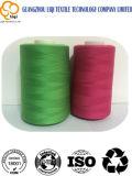 Oltre 1800 colori filetto di cucito Memoria-Filato 100% del tessuto della tessile del poliestere