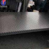 Folha Checkered do aço inoxidável de ASTM