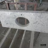 Kingkonree Artificial Quartz Stone Marble Bathroom Vanity Top