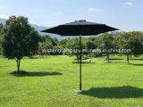 Высокое качество для использования вне помещений для отдыха в саду зонтик с ручной переключатель