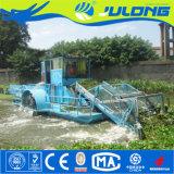 Agua Julong máquinas cortacésped cosechadora// Barco Barco de corte de malezas acuáticas para la venta