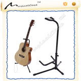 Soporte de guitarra vertical simple plegable