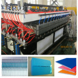 PC PP PE Feuille de profil creux Making Machine