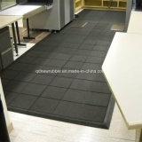 Azulejo de goma resistente de la gimnasia del resbalón de alta densidad del suelo