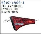 Авто детали заднего фонаря подходит для KIA Optima/K5 2011. Для изготовителей оборудования:020/92402 92401-2t-2t010/92404020/92403-2T-2T010