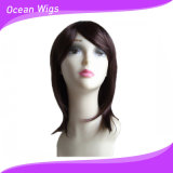 Pêlos sintéticos resistentes ao calor peruca