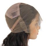 Colore naturale per le parrucche piene brasiliane del merletto dei capelli umani del Virgin di Glueless della donna di colore