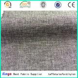 Kationisches Polyester-Oxford-Sofa-Gewebe des Jacquardwebstuhl-400d mit PU-Beschichtung