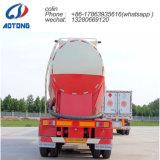"""El transporte de materiales en polvo de baja densidad Trailerthe Semi Cisterna hacer toda una """"W""""Forma"""