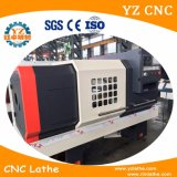 Draaiende Draaibank CNC die van het Bed van de hoge snelheid de Vlakke Automatische Draaiende Draaibank machinaal bewerken