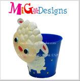 Venda por grosso de Fornecedor da China encantador jardim de Animais ovinos Bebé Plantadeira de Metal