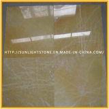 Carrelage en marbre / carreaux muraux poli jaune miel Onyx