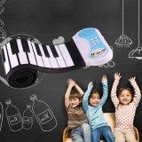 49 Broodje van het Silicium van sleutels het Flexibele op het Instrument van het Toetsenbord van het Elektronische Orgel van de Piano voor Kinderen