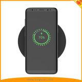 Qi colorido cargador inalámbrico Pad para Smartphone iPhone Samsung