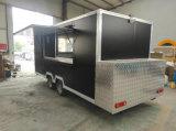 Camions de Mobile Kebab Van Mobile Food de caravane de fibre de verre de crême glacée de Tranda