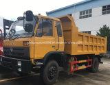 Carro de volquete de Dongfeng 4X2 10t -15t 12 toneladas de carro de vaciado para la venta