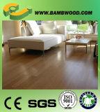 Suelo de bambú carbonizado natural en China