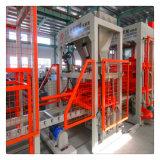 Bloco Queimar-Livre do material de construção da construção que dá forma à máquina