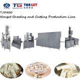 Caramelo práctico y profesional del turrón de la fabricación que hace la línea