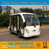 Zhongyi 8 lugares turísticos fechados carro eléctrico com o Banco Traseiro