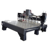 Máquina CNC Máquina de gravura da máquina máquina de esculpir Madeira (VCT-2125W-8H)