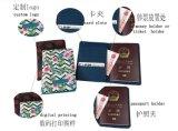 Supporto del passaporto di corsa del cuoio dell'unità di elaborazione di stampa di Digitahi
