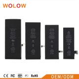Batterie mobile de batterie Li-ion pour l'iPhone 5s 6s plus 6g