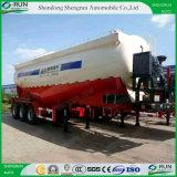 Shengrun 55cbm Aanhangwagen van de Vrachtwagen van het Nut van de Tank van het Cement van de V-vorm de Bulk