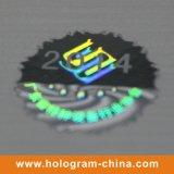 Autocollants Hologramme Laser Tamper Evident en nid d'abeille