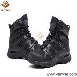 Anti-Slip черные воинские тактические ботинки (WTB028)