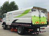 Sinotruk 6 Vrachtwagen 9 van de Straatveger van Wielen Cbm de Vrachtwagen van het Bereik van het Zand