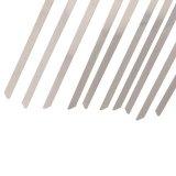 Braçadeiras de aço inoxidável- Braçadeiras de metal SS304 e grande comprimento extra de aço (serviço pesado)