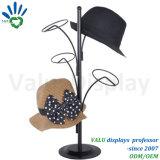 Crémaillère d'étalage de bureau au détail de chapeau de Chaud-Vente en métal avec le prix de vente directe d'usine
