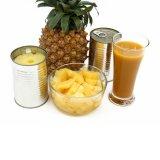 Eingemachte Ananas-Stücke mit Qualität